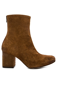 Cecile Ankle Bootie in Brown