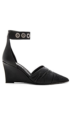 Free People Shadow Dancer Wedge in Black