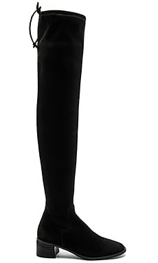 Coast to Coast Over the Knee Boot en Noir