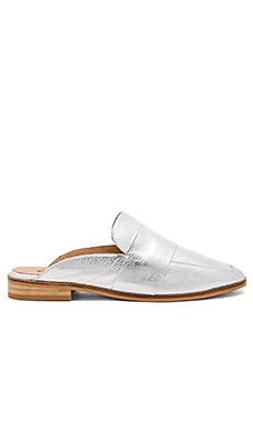 At Ease Loafer in Silver