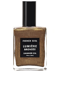 Lumiere Bronze Shimmer Oil French Girl $50