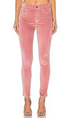 Velveteen Skinny in Dusty Pink