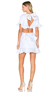 X REVOLVE Xavier Mini Dress in White