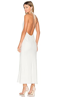 X REVOLVE Lux Maxi Dress in Ivory