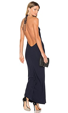 X REVOLVE Lux Maxi Dress in Navy