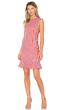 X REVOLVE Giovana Dress in Red Gingham