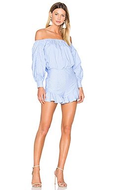X REVOLVE Medine Set in Pale Blue Stripe
