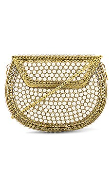 Pearl Metal Bag From St Xavier $110