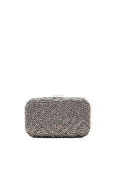 Hayley Box Clutch in Silver