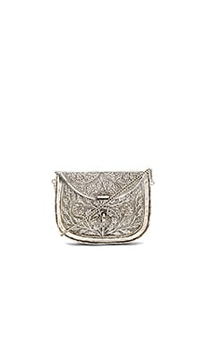 Riley Clutch in Silber