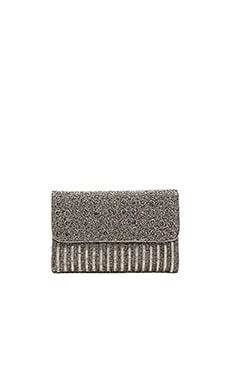 Mel Clutch in Grey & Silver