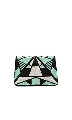 Vera Clutch in Green
