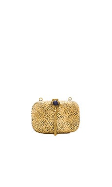 Tasha Clutch in Gold