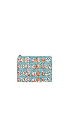 Rose All Day Clutch From St Xavier $100