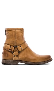 Frye Phillip Harness Boot en Camel