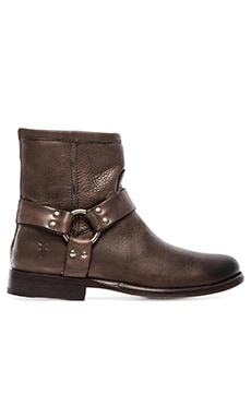 Frye Phillip Harness Boot in Grey