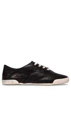 Frye Melanie Low Sneaker in Black