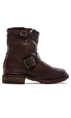 Frye Valerie 6 Boot in Dark Brown