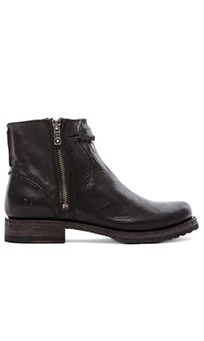 Frye Veronica Seam Short Boot in Black
