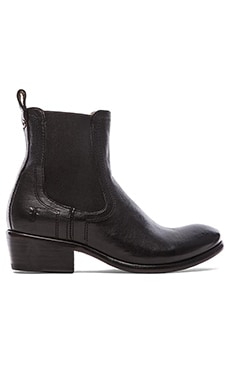 Frye Carson Chelsea Boot in Black