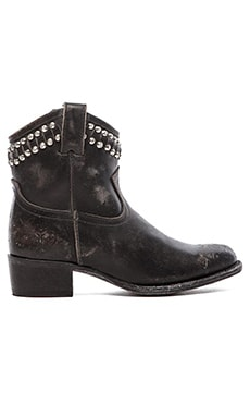 Frye Diana Cut Stud Bootie in Black