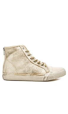 Frye Greene High Top Sneaker in White