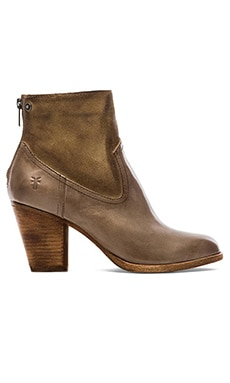 Frye Tessa Short Bootie in Grey