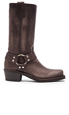 Frye Harness 12R Boot in Smoke