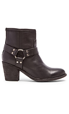 Frye Tabitha Harness Short Boot in Black