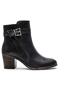 Malorie Knotted Short Boot in Black
