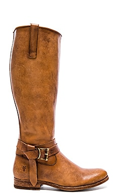 Frye Melissa Knotted Tall Boot in Tan