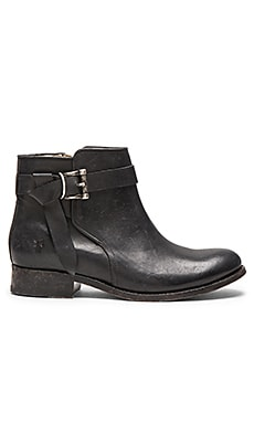 Frye Melissa Knotted Short Boot in Black