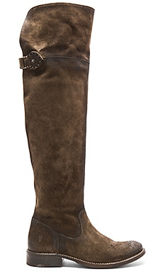 Frye Shirly OTK Boot in Fatigue