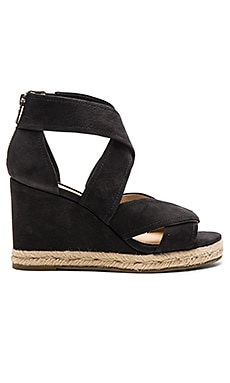 Roberta Wedge en Noir