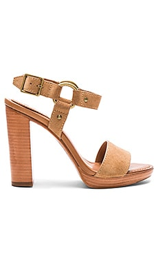 Frye Sara Harness Heel in Sand