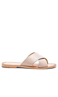 Ruth Criss Cross Sandal en Ciment