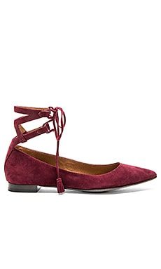 Sienna Ghillie Ballet Flat in Bordeaux