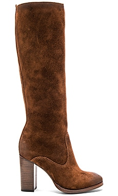 Claude Tall Boot in Brown