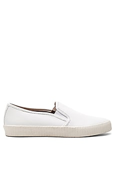Camille Slip On in White