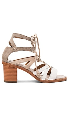 Brielle Gladiator Heel in White Multi