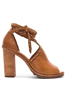 Suzie Pickstitch Heel in Whiskey