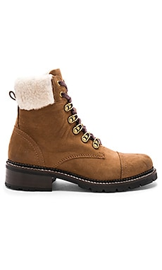 Samantha Shearling Hiker Boot Frye $279