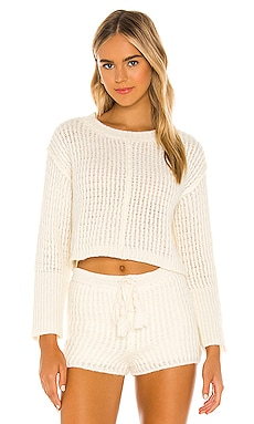 x REVOLVE Mohair Sweater Flook The Label $113 NEW