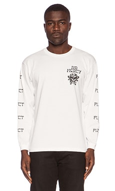 Fuct RXCX No Mercy Long Sleeve Tee in White
