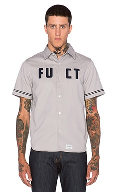 Fuct Fuct 69 Baseball Shirt in Grey