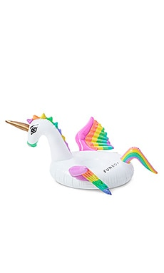 Rainbow Unicorn Inflatable Drink Holder en Imprimé