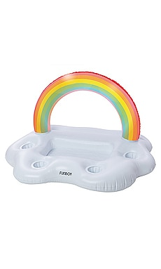 Rainbow Cloud Inflatable Floating Bar