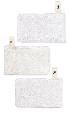 LOT DE 3 GANTS EXFOLIANTS MITT TRIO fur $16
