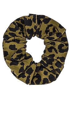 Leopard Scrunchie Ganni $14