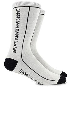 Logo Socks Ganni $13 (FINAL SALE)